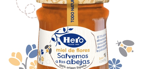 Hero Spain: 'Save the bees' honey